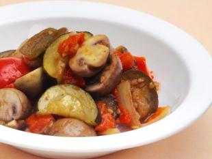 とかちマッシュと夏野菜のラタトゥイユ